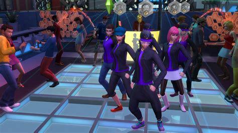 sims    dance club screenshot