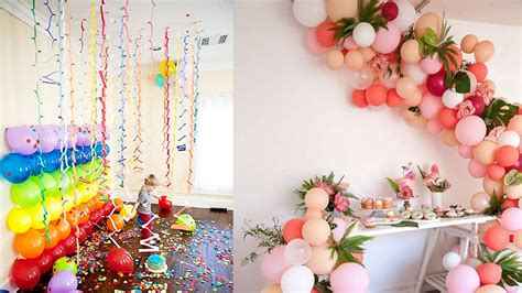 decorate room  birthday party cute decor snacks