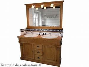 Meuble salle de bain retro for Meuble de salle de bain style retro