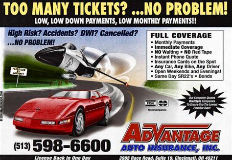 High Risk Auto Insurance - cincinnati auto insurance car sr22 bond high risk