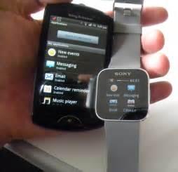 Sony SmartWatch iPhone