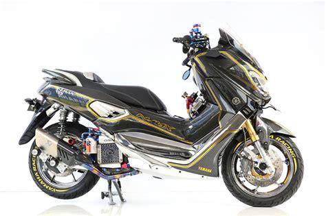 Nmax Keren by Ini Dia Modifikasi Yamaha Nmax Paling Keren Di Surabaya