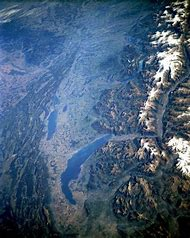 Switzerland From Space
