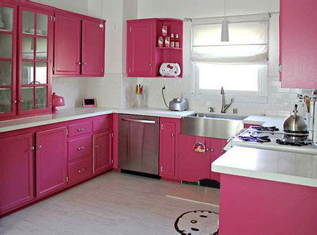 light pink kitchen home dzine kitchen colourful pink kitchens 3758