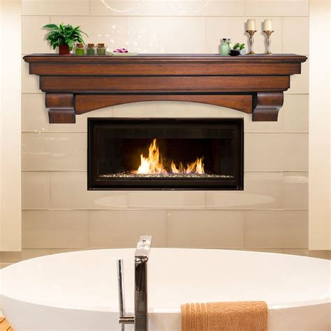 wood fireplace shelves mantels salem wood mantel