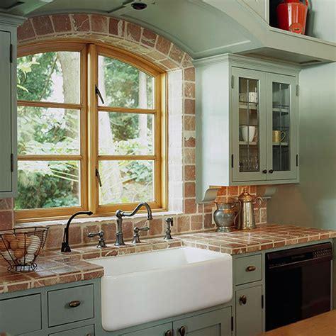 lavabos  cocinas de estilo cottage