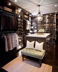 Banc Pour Dressing : ilot de dressing et banc d 39 accueil pour s 39 habiller ~ Teatrodelosmanantiales.com Idées de Décoration
