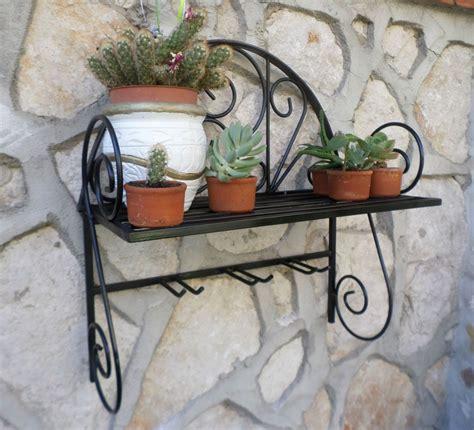 mensole ferro battuto dettagli su mensola fioriera porta piante porta vaso in