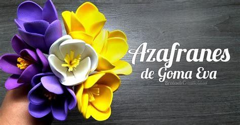 Flores de goma eva DIY Fiori Idee