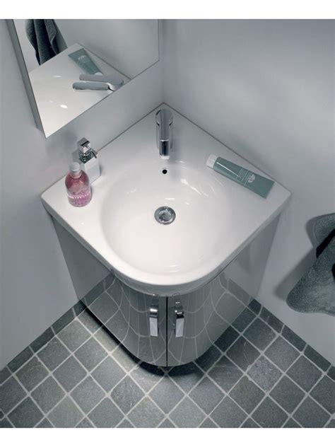corner vanity unit ideas  pinterest bathroom