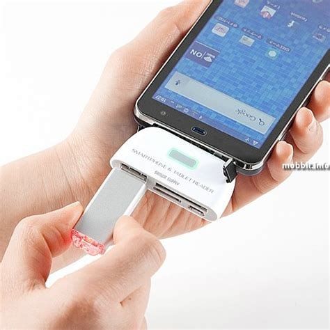 usb reader for android sanwa usb reader usb port and sd card reader for android