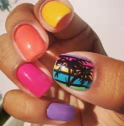 Summer acrylic nail designs home decoration live