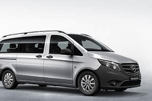 Mercedes Vito Edna by Our Fleet Testa Limousine Service Transfers Sicily