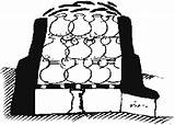 Pottery Fire Kiln Clipart Cliparts Clip Library Illustration Kilns Drawing sketch template