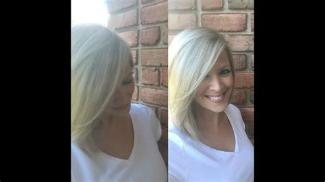 home blonde hair color drugstore brand youtube