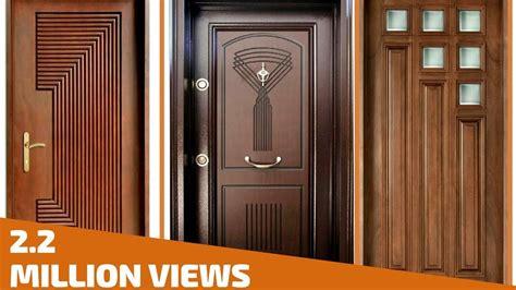 top  modern wooden door designs  home  plan  design youtube