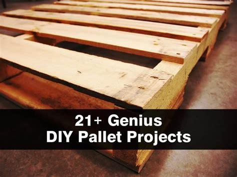 genius diy pallet projects