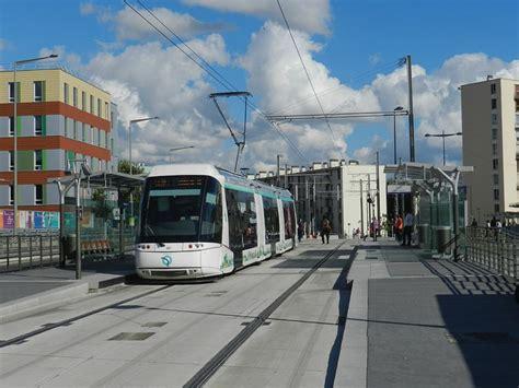 tramway porte de pantin mise en service de t5 transportparis le webmagazine des transports parisiens