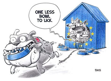 cartoons  brexit divorce politico