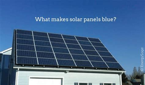 solar panels blue  black energysage