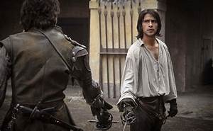 Luke Pasqualino Talks About The Musketeers - Peter Capaldi