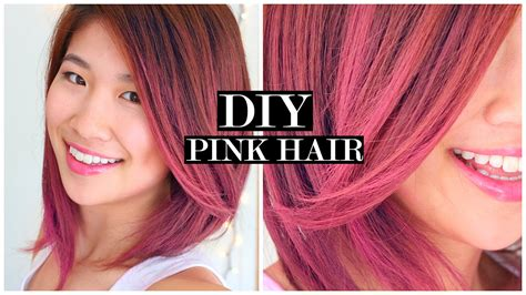 Pink Ombre Hair & Fake Short Hair Tutorial