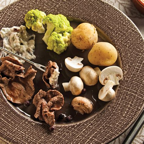 cuisine recettes pratiques bouillon pour fondue de gibier recettes cuisine et