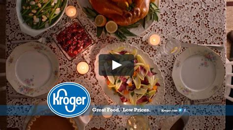 """Find everything you need to create a thanksgiving dinner your way. Kroger Thanksgiving """"You Made It"""" on Vimeo"""