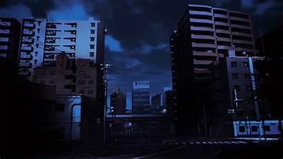Anime Aesthetic Night Scenery Sky Windows Wattpad