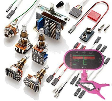 Emg Pickup Conversion Wiring Kit Ppp Push Pull Long