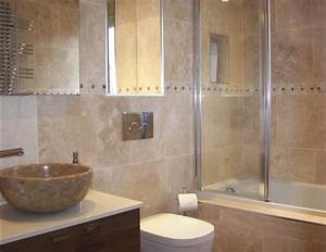Wall designs for bathrooms : Travertine bathroom wall ideas home interiors