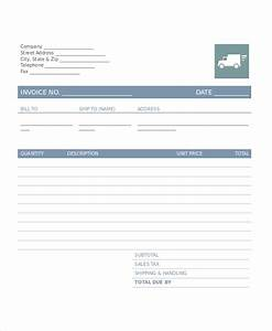 trucking invoice template free trucking invoice template With carrier invoice template