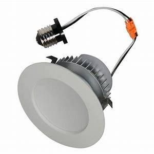 American lighting ep e wh led recessed can