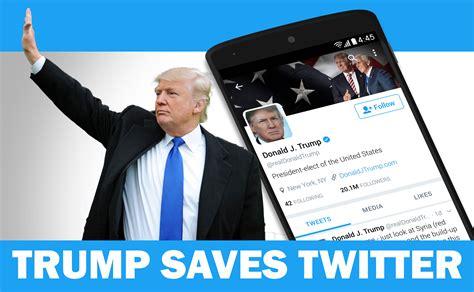 trump donald tweets anti account pr digital tweet comes still save mainstream saves