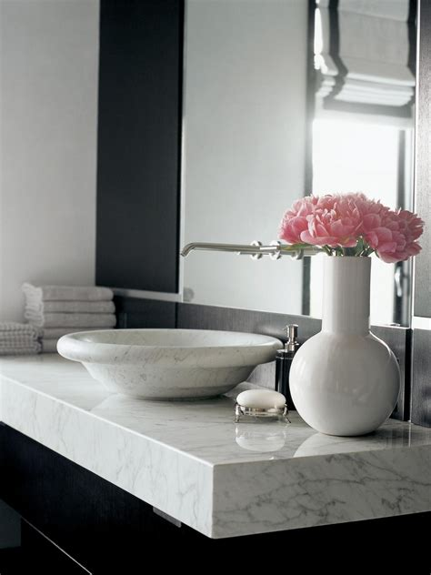 Timeless Elegance Marble Countertop Is A Favorite For High