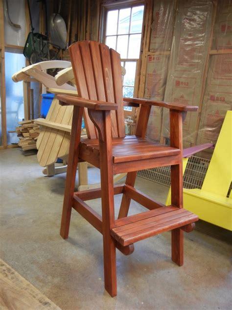 plans   build adirondack bar chairs