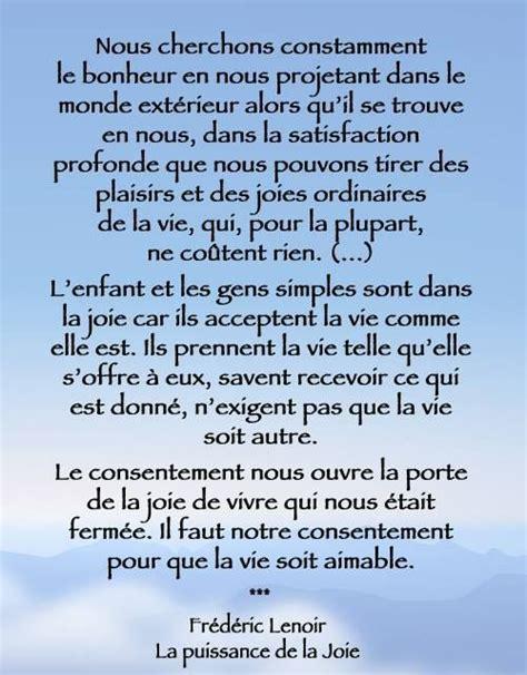 fr 233 d 233 ric lenoir quot la puissance de la joie quot beaux textes