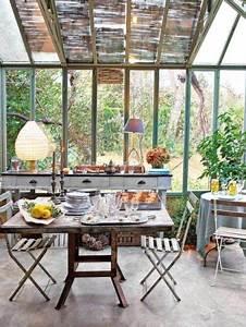 Mobilier De Veranda : salle manger ou jardin d 39 hiver on ammenage la v randa ~ Preciouscoupons.com Idées de Décoration
