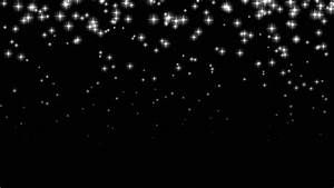 An, Abstract, Animation, Of, Bright, Small, Stars, Falling, In
