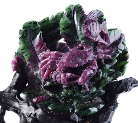 1000 about ruby in zoisite on auction