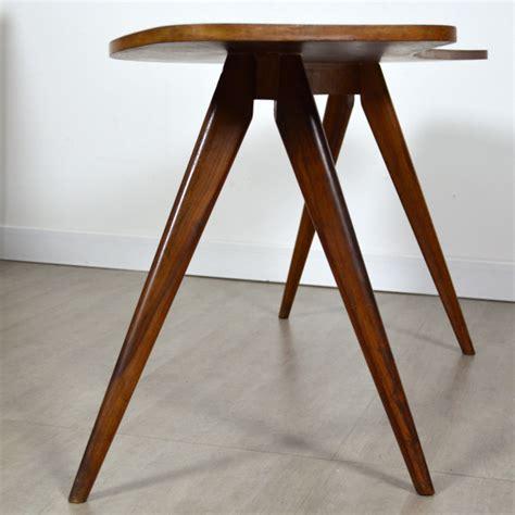 canapé forme haricot table haricot pieds compas vintage