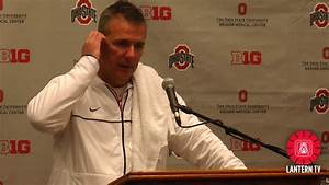 Ohio State HC Urban Meyer speaks after his team's 52-14 ...
