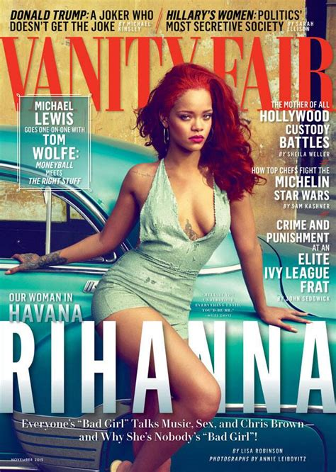 Vanity Fair Magazine Canada - rihanna reflects on finally breaking away from chris brown