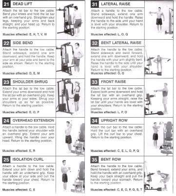 pin  christina hayen  fitness workout chart home