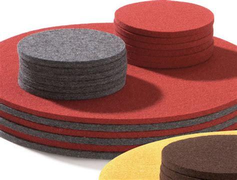 felt table mats felt table mats eclectic placemats by manufactum