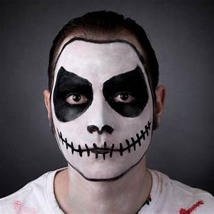 How To Do Skeleton Makeup Without Face Paint - Mugeek ...