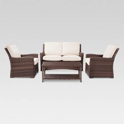 Target Patio Furnature - all weather wicker patio furniture target