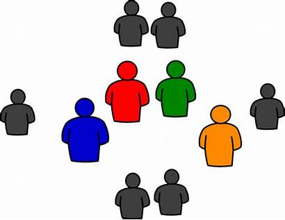 Clip Clipart Powerpoint Round Person Cliparts Talking