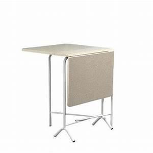 Petite Table Pliante : table d 39 appoint pliante tp16 rectangulaire a volets ~ Teatrodelosmanantiales.com Idées de Décoration