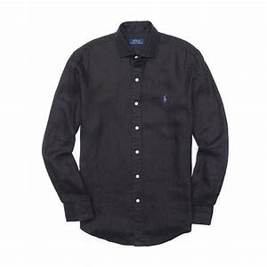 Black Linen Shirt Custom Shirt